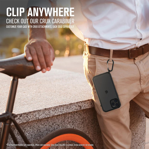 Get the latest case from catalyst comes with crux carabiner can bring your iphone 12 pro max everyhwere you go. Shop online now at syntricate.