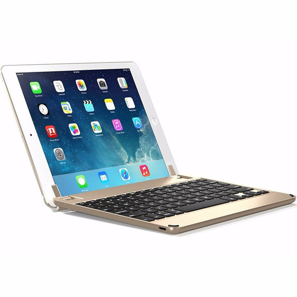 Place to buy and shop genuine Brydge 9.7 Bluetooth Keyboard For Ipad 9.7(5Th Gen)/Pro 9.7/Air 2 - Gold. Free express shipping Australia from authorized distributor Syntricate.
