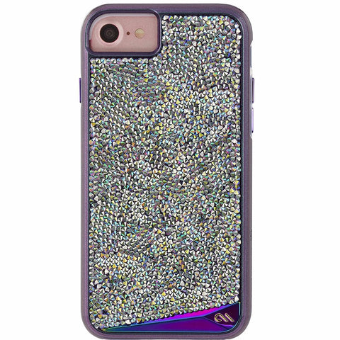 CASEMATE BRILLIANCE TOUGH GENUINE CRYSTAL CASE FOR iPHONE 8/7/6S - IRIDESCENT