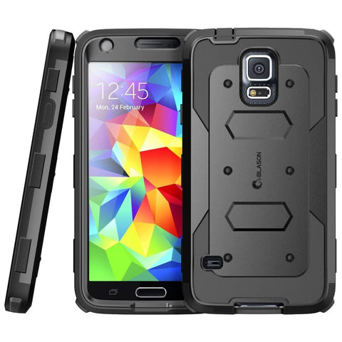 Place to buy ARMORBOX DUAL LAYER HYBRID FULL-BODY CASE FOR GALAXY S5 - BLACK FROM I-BLASON online in Australia free shipping & afterpay.