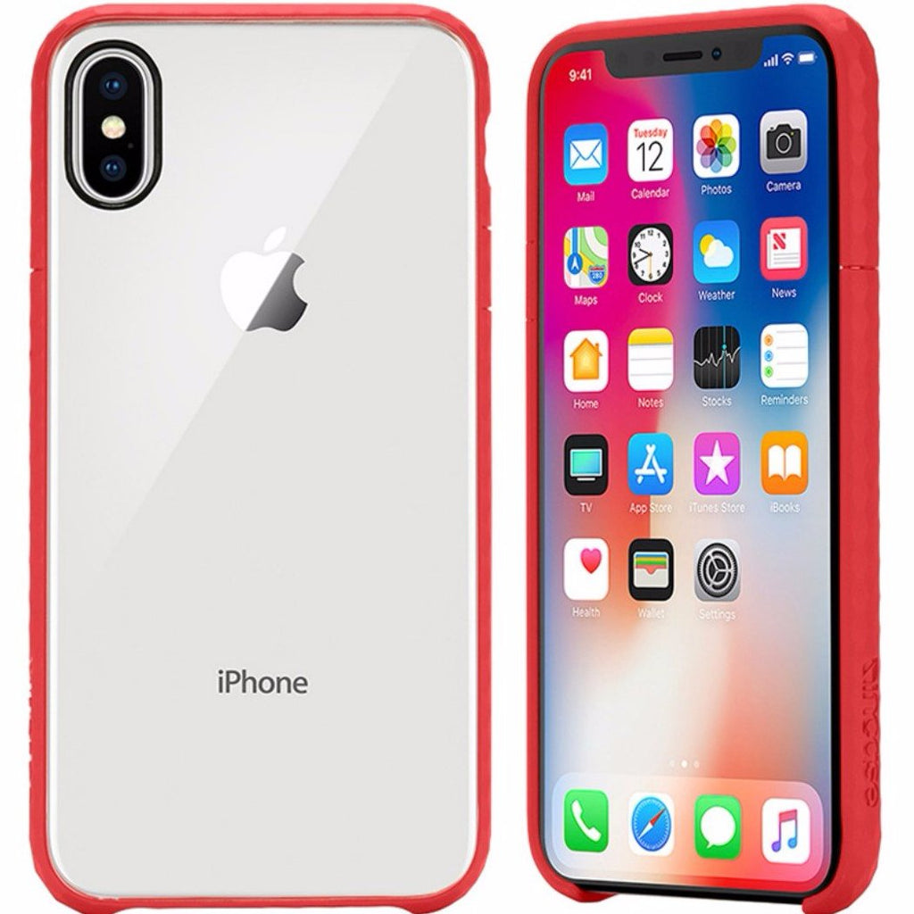 Increase your style with beautiful and transparent see through Incase Pop Tensaerlite Case For Iphone X - Clear Red. Authorized distributor offer free express shipping Australia wide from trusted official online store Syntricate. Australia Stock