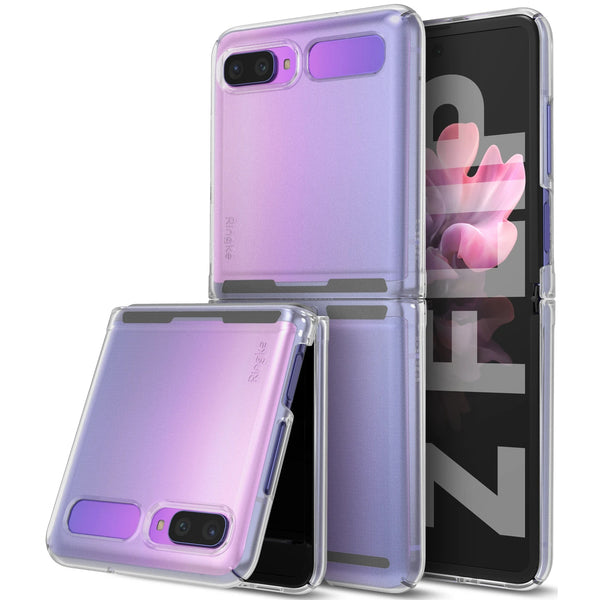 Ringke Slim Lightweight Rugged Case For Galaxy Z Flip - Matte Clear
