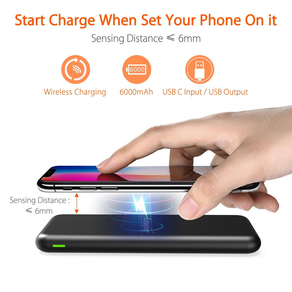Wireless Power Bank Charger Pad Jackery Nomad 130 Australia Zagg Messenger Universal 12 Inch Keyboard For Apple Android Shop Stock With Free Shipping Online