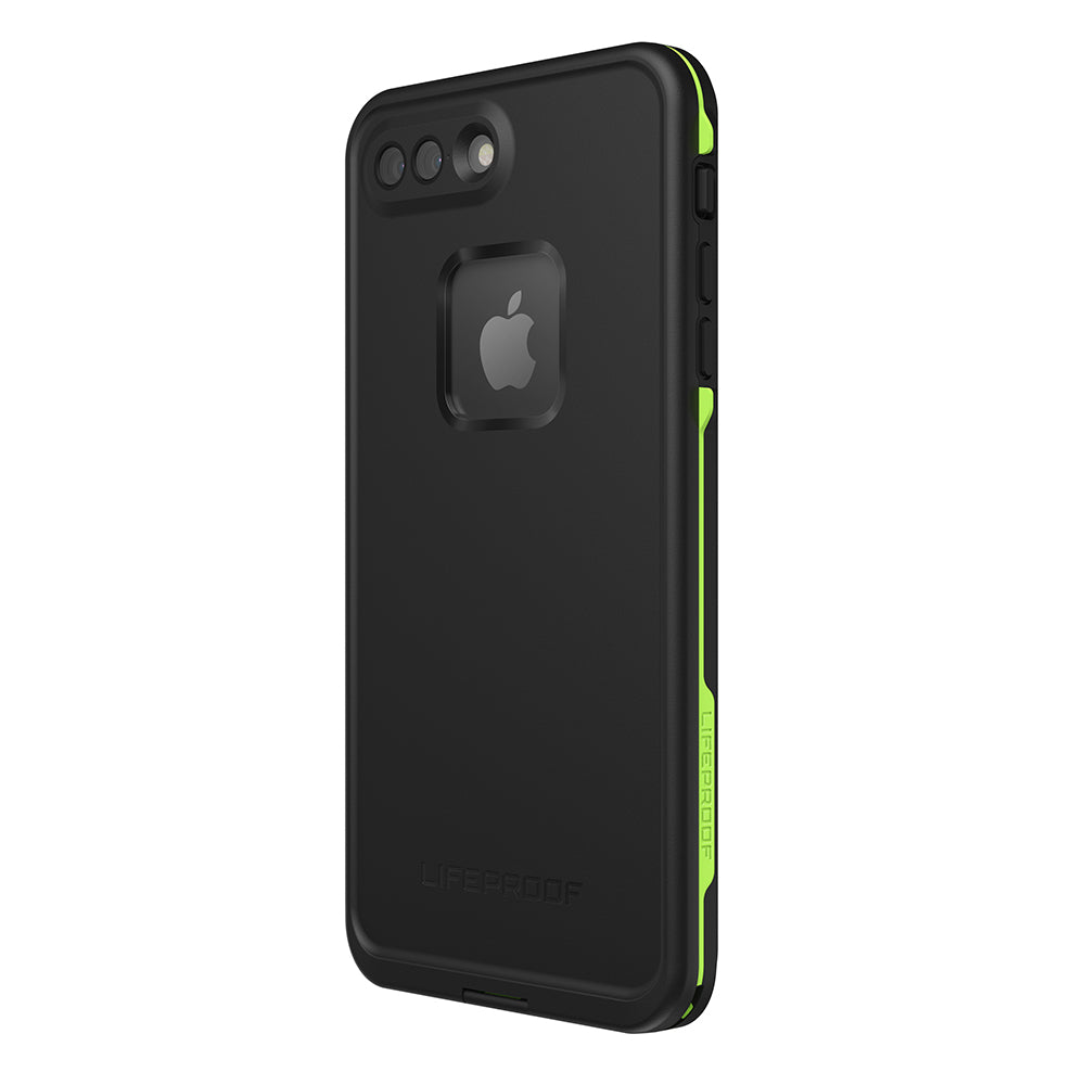 Free express shippinng for purchase Lifeproof Fre 360° Waterproof Case For Iphone 8 Plus Black/Lime Australia. Australia Stock