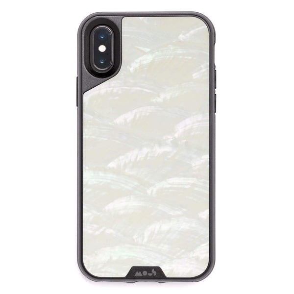 iPhone Xs & iPhone X case from Mous Australia - White - Free shipping
