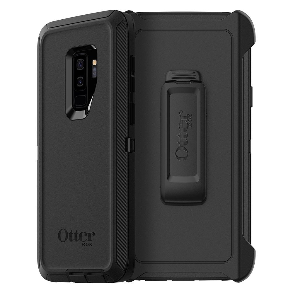 brand new 452ab 09860 OTTERBOX DEFENDER SCREENLESS EDITION CASE FOR GALAXY S9 PLUS - BLACK
