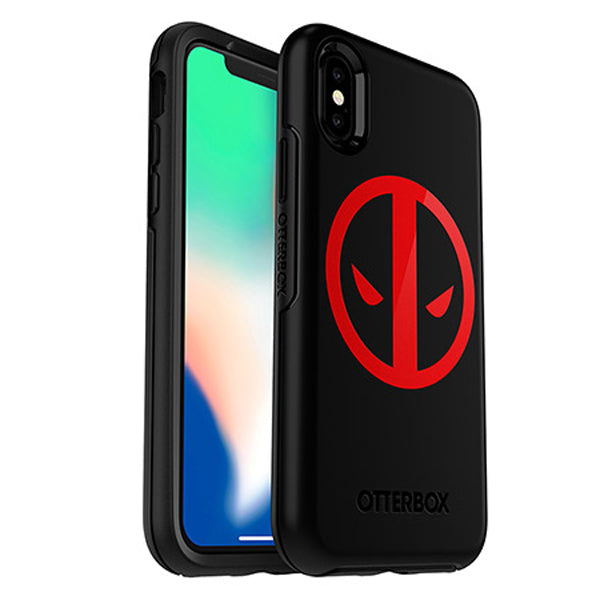 Buy new designer design with deadpool graphics for your iphone xs/x from otterbox with free shipping Australia wide.