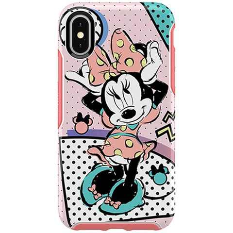 iphone xs/x pink case designer cute pink colour. buy online with free shipping australia wide