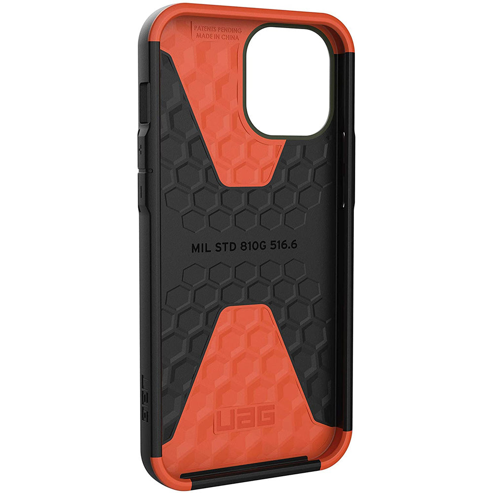 "Shop Australia stock UAG Civilian Sleek Ultra Slim Rugged Case For iPhone 12 Pro / 12 (6.1"") - Olive Drab with free shipping online. Shop UAG collections with afterpay Australia Stock"