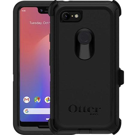 best service 3fee7 4f3ec OTTERBOX DEFENDER SCREENLESS EDITION RUGGED CASE FOR GOOGLE PIXEL 3 XL -  BLACK