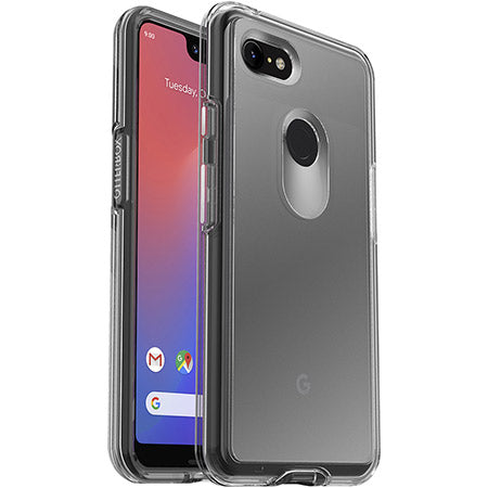 OTTERBOX SYMMETRY CLEAR SLIM CASE FOR GOOGLE PIXEL 3 XL - CLEAR
