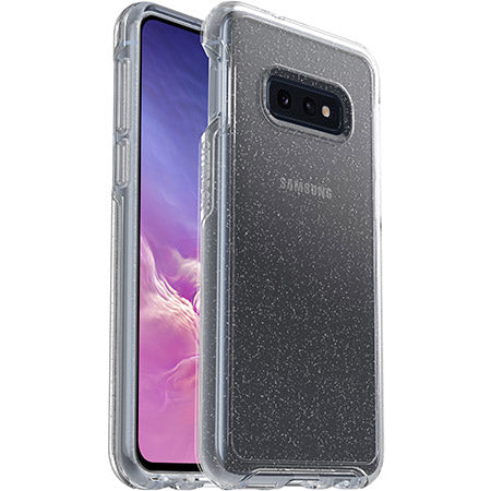 buy online clear case with glitter for new samsung galaxy s10e