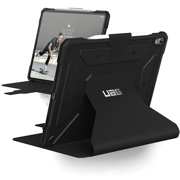 Shop Australia stock UAG METROPOLIS RUGGED FOLIO CASE FOR IPAD PRO 12.9-INCH (3RD GEN/2018) - BLACK with free shipping online. Shop UAG collections with afterpay