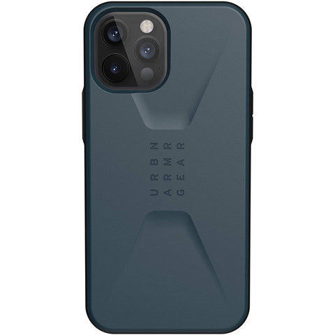 "Get the latest iPhone 12 Pro / 12 (6.1"") UAG Civilian Sleek Ultra Slim Rugged Case - Mallard Online local Australia stock."