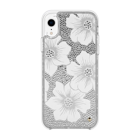 Shop Australia stock KATE SPADE NEW YORK FULLY CLEAR CRYSTAL PROTECTIVE CASE FOR IPHONE XR - HOLLYHOCK CREAM/BLUSH/GEM with free shipping online. Shop Kate Spade New York collections with afterpay