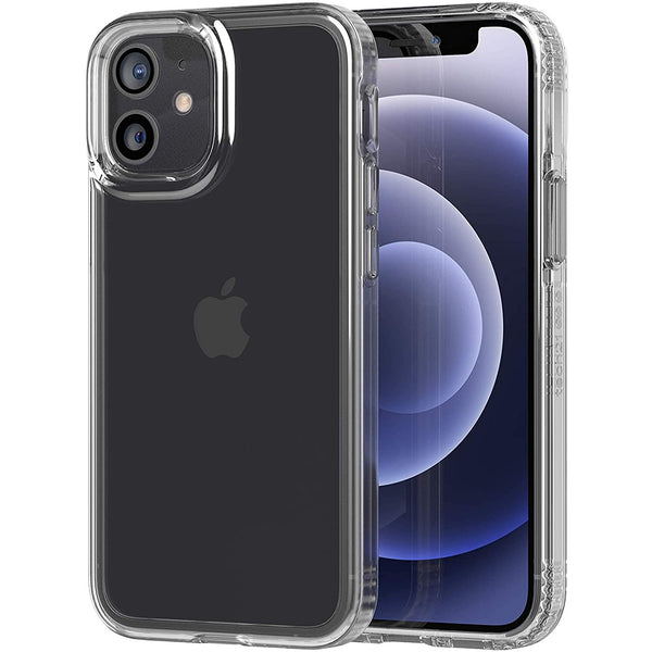 show off your new iphone 12 mini with clearly protective case with tech21 pure clear series . buy online with best deals and get free express shipping