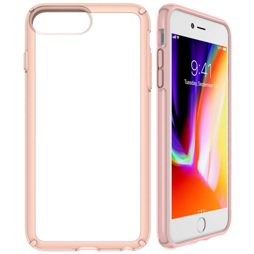 online retailer 92d8a d8765 SPECK GEMSHELL CASE FOR IPHONE 8 PLUS/7 PLUS - CLEAR/ ROSE PINK
