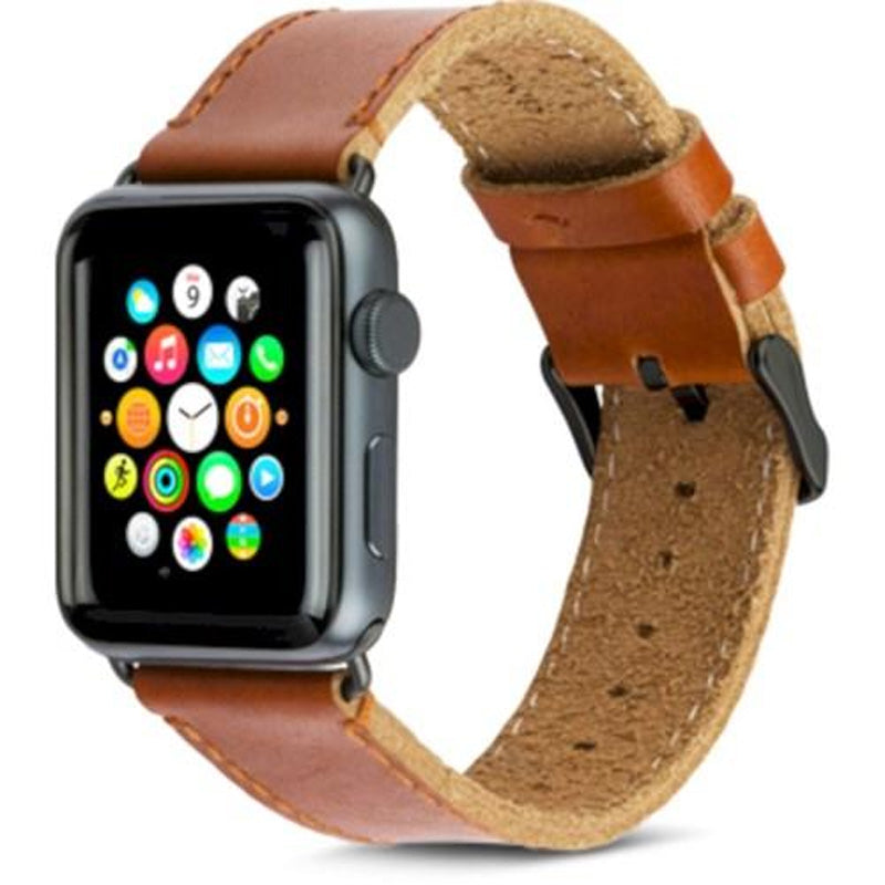 browse online leather straps for apple watch series 1/2/3/4 Australia Stock
