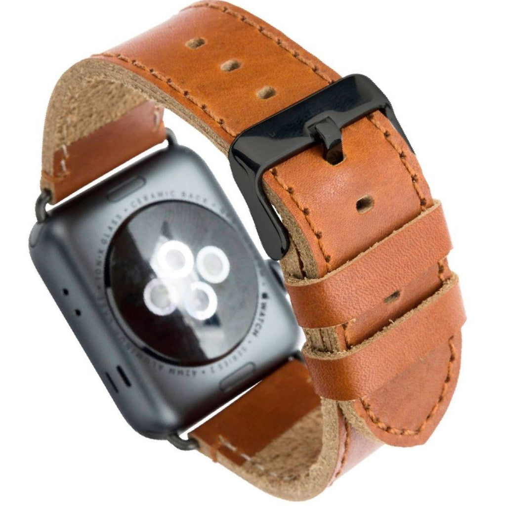 Shop Australia stock DBRAMANTE 1928 Copenhagen Full-Grain Leather Strap For Apple Watch 42/44MM - Dark Brown/Space Grey with free shipping online. Shop Dbramante1928 collections with afterpay Australia Stock