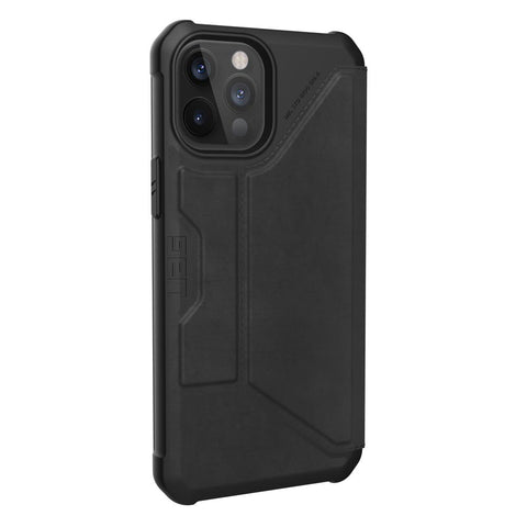 "Shop off your new iPhone 12 Pro Max (6.7"") Metropolis Card Folio Case From UAG - Leather Black with free shipping Australia wide."