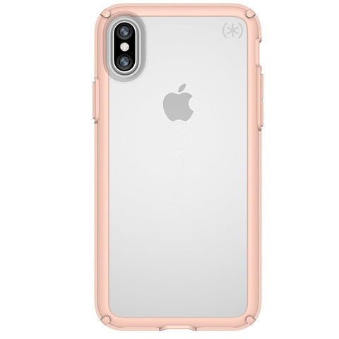 Shop Australia stock SPECK GEMSHELL CASE FOR IPHONE XS/X - CLEAR/ ROSE PINK with free shipping online. Shop Speck collections with afterpay