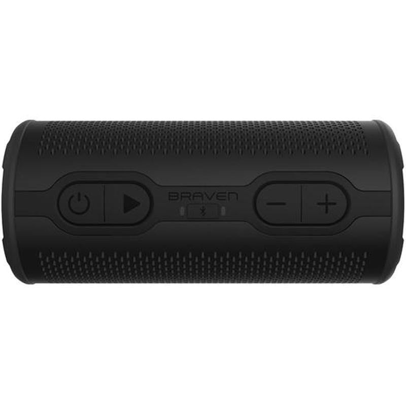 BRAVEN STRYDE 360 DEGREE SOUND WATERPROOF BLUETOOTH SPEAKER - BLACK Australia Stock