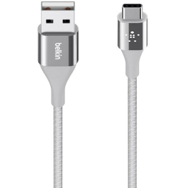 Belkin Duratek Kevlar Strong Usb-c To Usb-a Cable (Usb Type-c) Silver