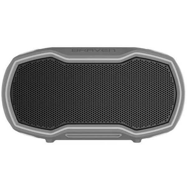 Braven Ready Prime Waterproof Bluetooth Outdoor Smart Speaker Grey Color