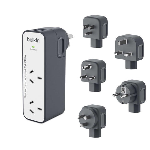 Shop Australia stock Belkin Surge Plus 2 Outlet USB 2.4Amp/12W Travel Charger with free shipping online. Shop Belkin collections with afterpay