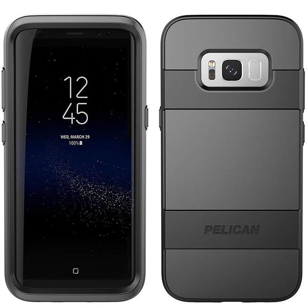 Buy new and genuine Pelican Voyager Case screen Protector For Galaxy S8 - Black
