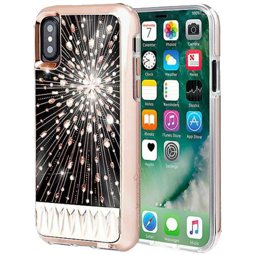 Where place to buy glow in the dark and shiny case from Casemate Luminescent Light Up Crystal Case For Iphone X. Free express shipping Australia wide only on authorized distributor and trusted online store Syntricate.