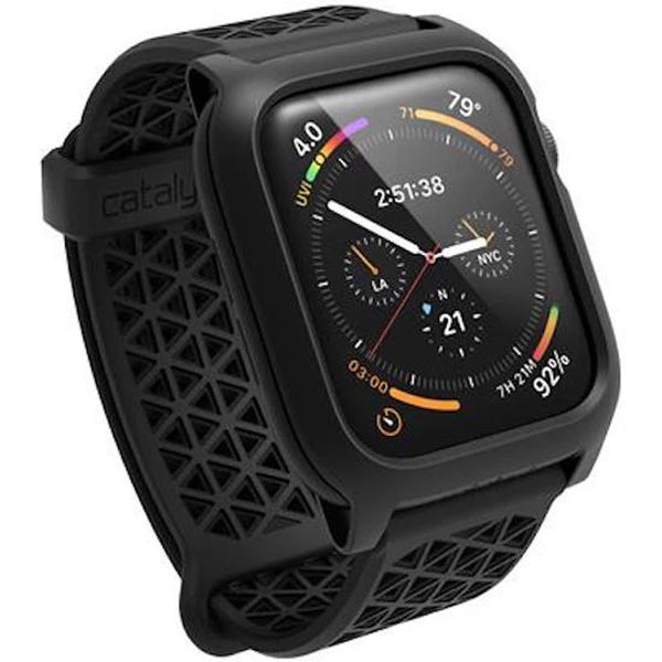 Shop Australia stock CATALYST Impact Protector Case for Apple Watch Series 4 (44mm) -­ Stealth Black with free shipping online. Shop Catalyst collections with afterpay