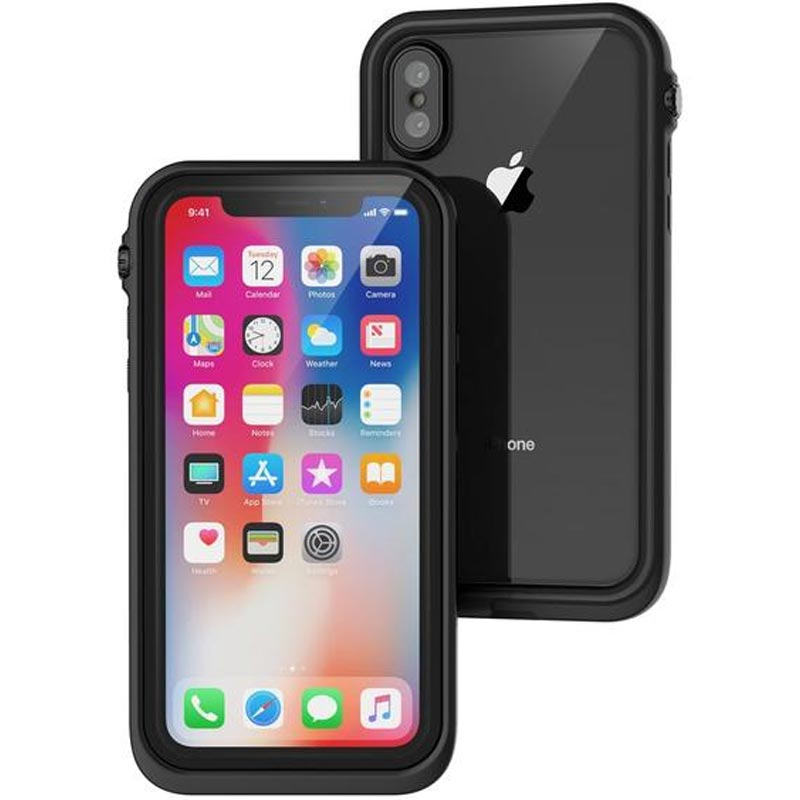 CATALYST WATERPROOF RUGGED CASE FOR IPHONE X STEALTH BLACK Australia Stock