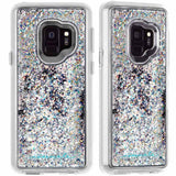 Casemate Waterfall Sparkle Glitter Case Samsung Galaxy S9 Iridescent