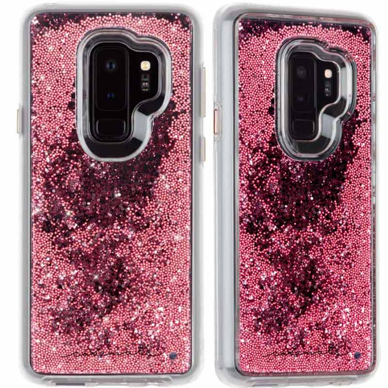 93f6ab6d31226e Casemate Waterfall Sparkle Glitter Case For Galaxy S9 Plus - Rose Gold