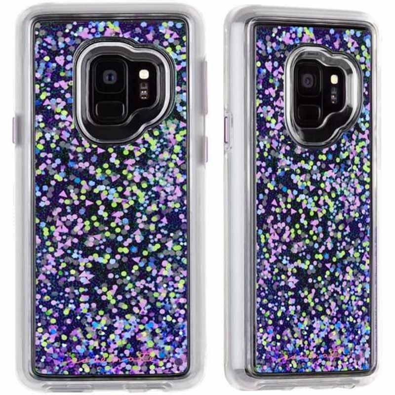 newest b76ec 86eb4 CASEMATE WATERFALL SPARKLE GLITTER CASE FOR GALAXY S9 - GLOW PURPLE