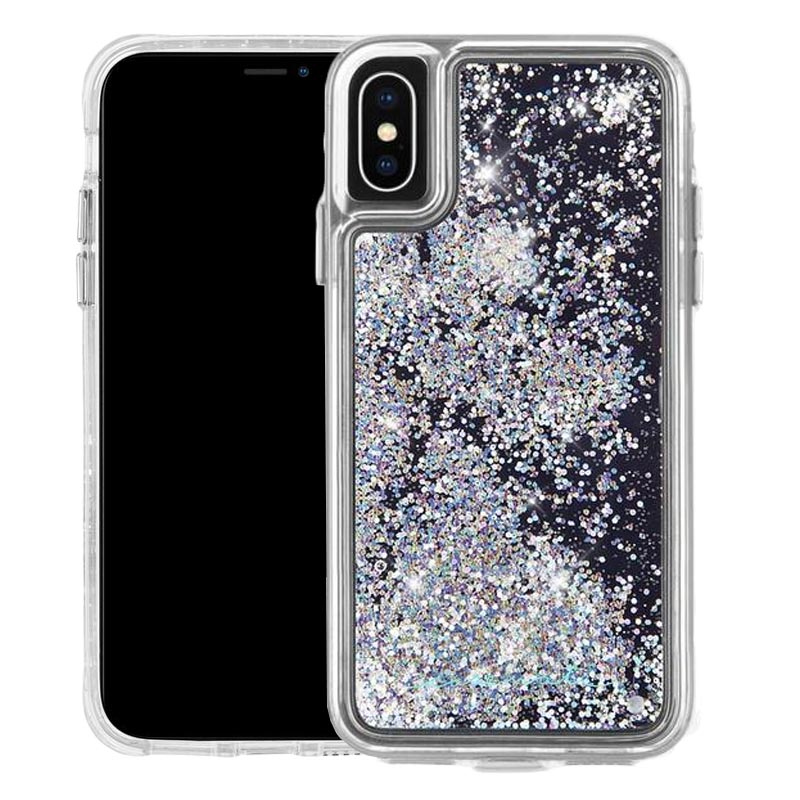 quality design 1cf90 5adc3 CASEMATE WATERFALL GLITTER CASE FOR IPHONE XS/X - IRIDESCENT