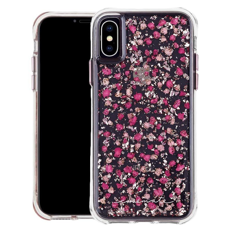 on sale bc324 fb279 CASEMATE KARAT PETALS CASE FOR IPHONE XS/X - DITSY PETALS PINK