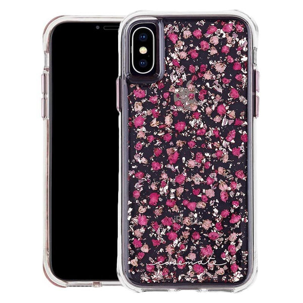 karat petal flower casemate case for iPhone x & Iphone XS