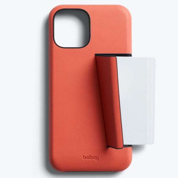 BELLROY 3 Card Leather Case For iPhone 12 Mini (5.4
