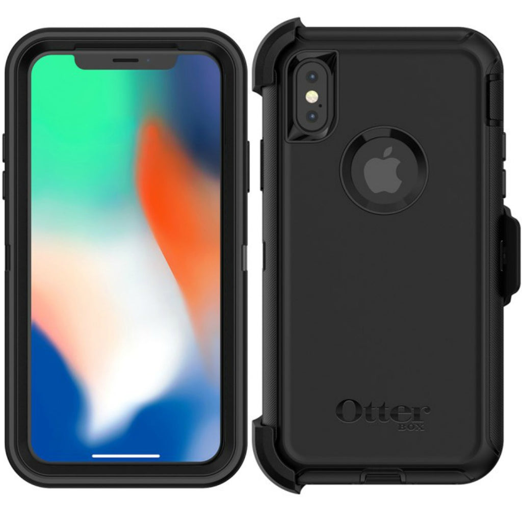 Place to shop and buy genuine Otterbox Defender Screenless Edition Rugged Case For Iphone XS/X - Black. Australia wide free express shipping only on Syntricate. Australia Stock
