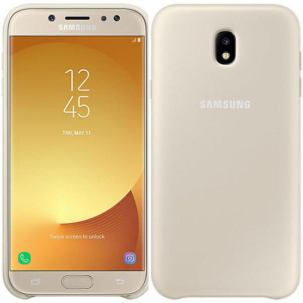 Buy new and genuine Samsung Dual Layer Case For Galaxy J7 Pro/j7 (2017) Gold