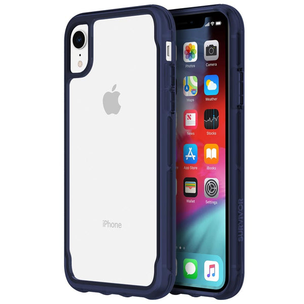 clear case with drop tested protection for iphone xr from griffin