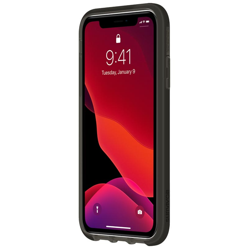 "Shop Australia stock GRIFFIN Survivor Clear Case for iPhone 11 (6.1"") - Black with free shipping online. Shop Griffin collections with afterpay Australia Stock"