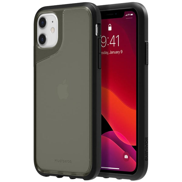 tough case for iphone 11 from griffin australia. Clear smoke design with drop protection