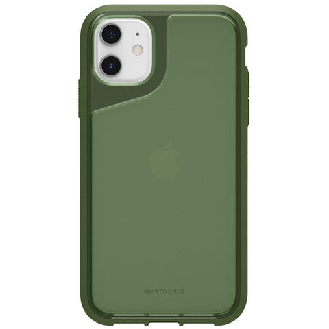 buy online premium case for iphone 11 green colour from griffin