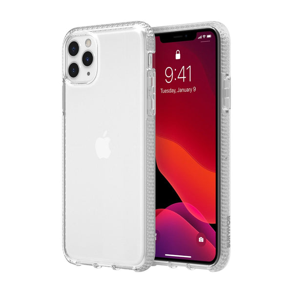 "Shop Australia stock GRIFFIN Survivor Clear Case for iPhone 11 Pro Max (6.5"") - Clear with free shipping online. Shop Griffin collections with afterpay"