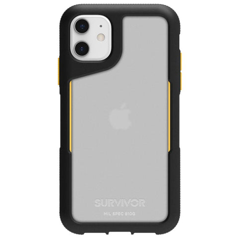 sylish dual black orange iphone 11 premium case from griffin australia