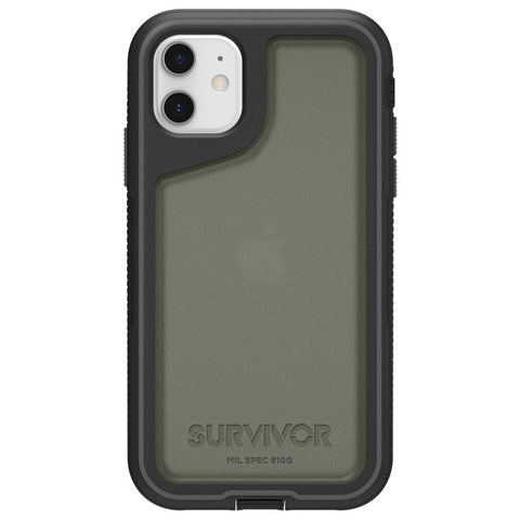 rugged case for iphone 11 with stylish smoke black from griffin australia