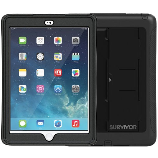 store place to buy online GRIFFIN SURVIVOR SLIM RUGGED CASE FOR iPAD AIR 2 - BLACK free shipping australia